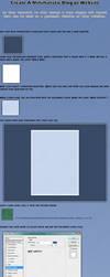 Minimalistic Website-Blog TUT by poseyGFX