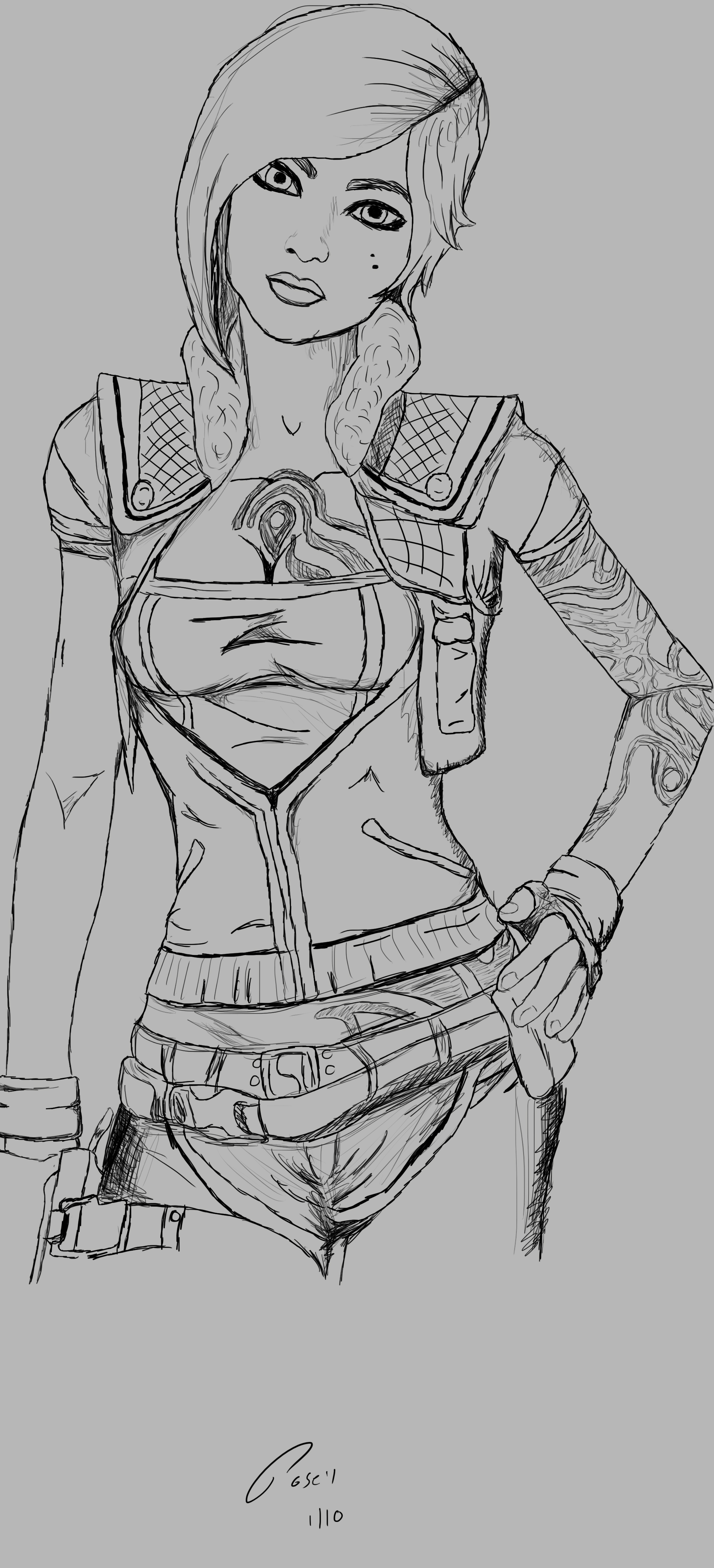 Lilith Sketch by poseyGFX