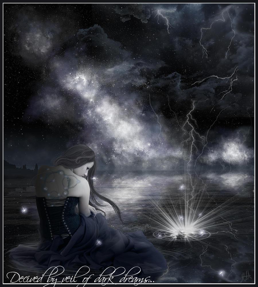 Decived by veils of dark dream by Iardacil