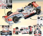Paper Formula 1 car
