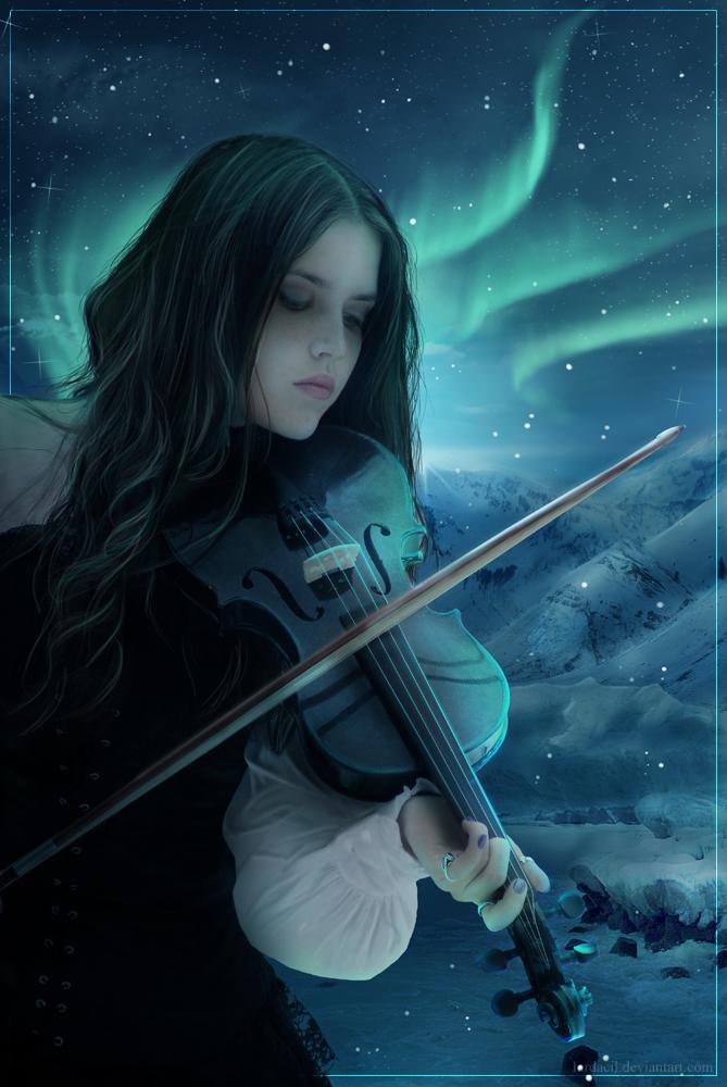 Aurora Borealis by Iardacil