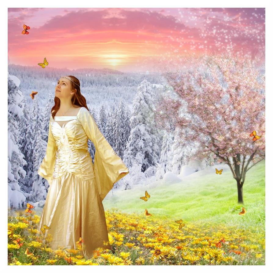Persephone's return by Iardacil