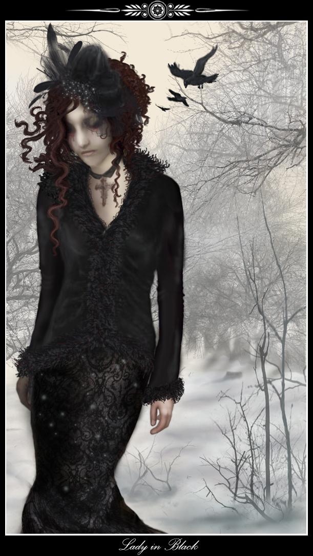 Lady in Black by Iardacil