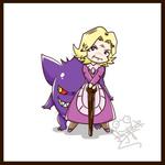 Chibi Elite 4 - Kikuko
