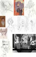 Sketch Dump 14 by JMFenner91