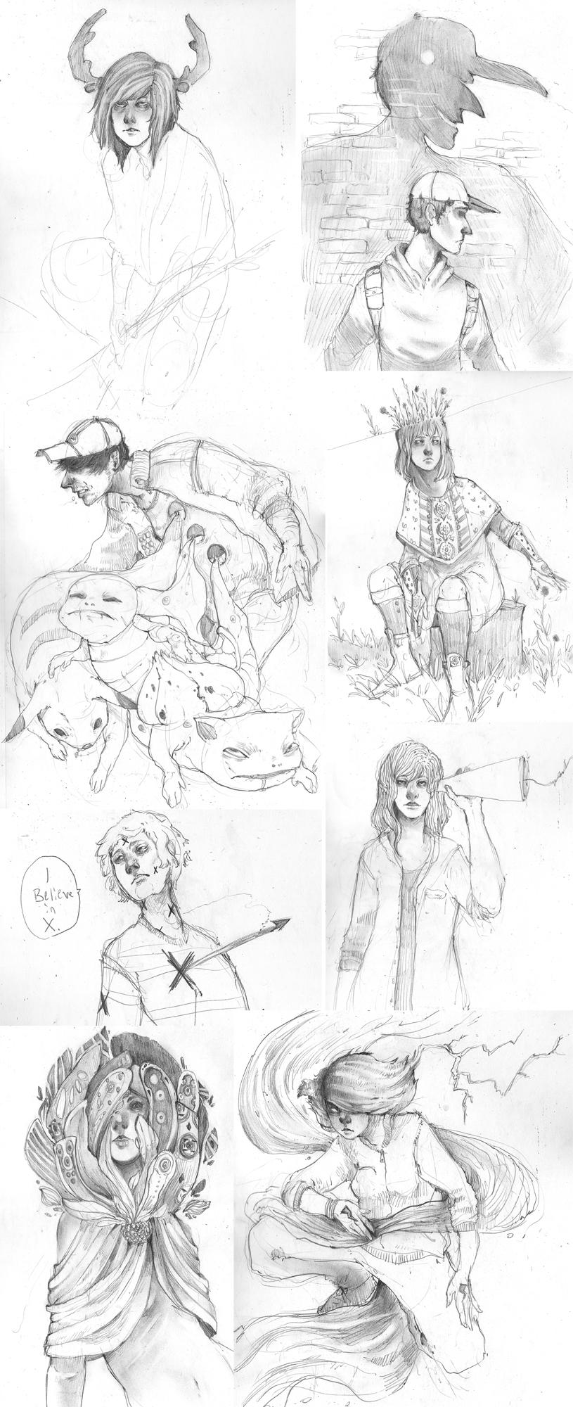 Sketchdump 15 by JMFenner91