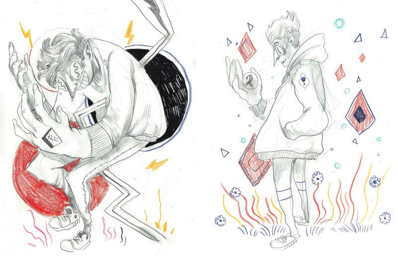 Dumb Doodles by JMFenner91