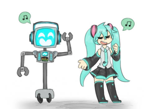 the musical robot(s)