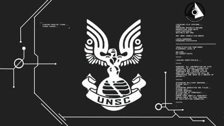 halo PROPERTY OF UNSC wallpaper