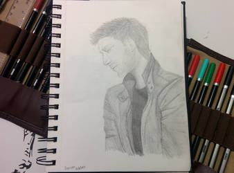 Jensen Ackles by bezzlebez