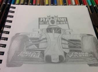 Williams F1 Car by bezzlebez