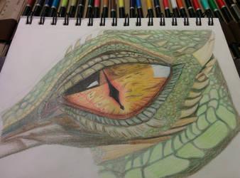 Dragon Eye - You tube tutorial by bezzlebez