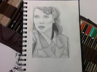 Peggy Carter by bezzlebez