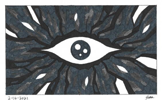 The Indigo Eye of Wonder