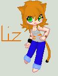 Liz pixelart by Engelmoon