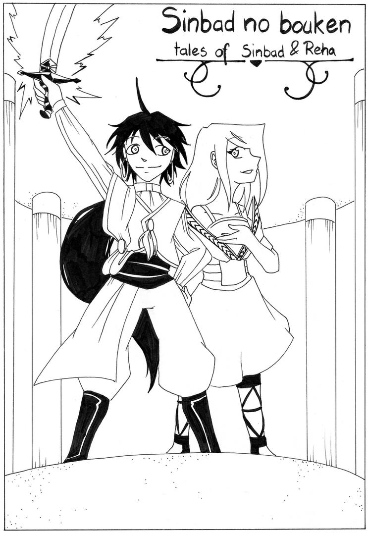 Tales of Sinbad and Reha by Engelmoon