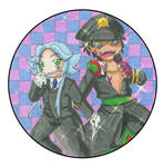 Nanbaka: Hayden and Mitsuru