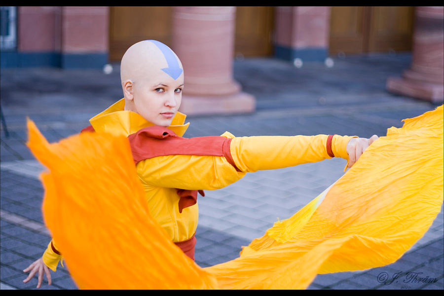 Avatar Aang by Honeyeater