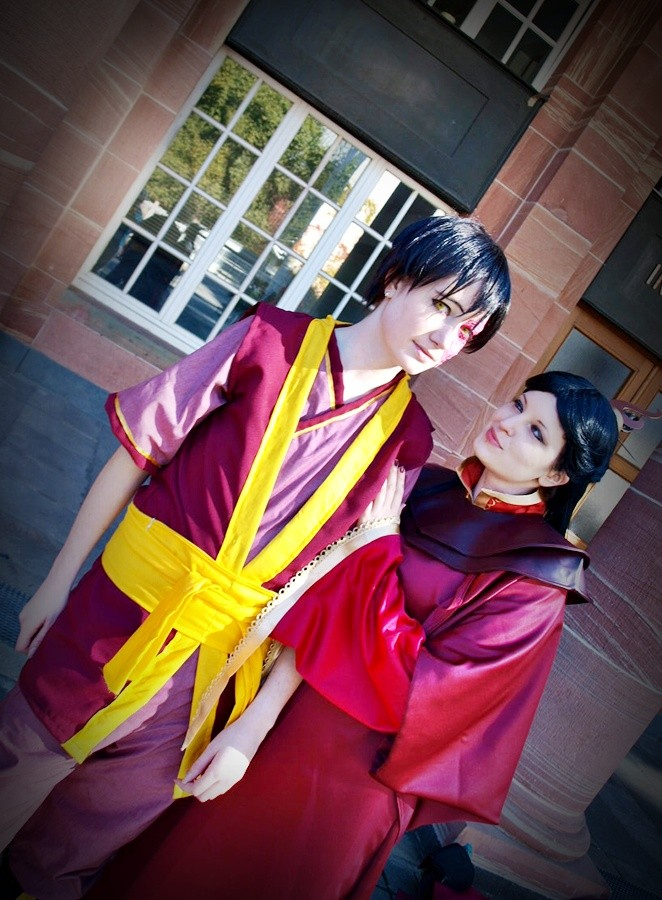 Princess Ursa and Zuko 1 by Honeyeater