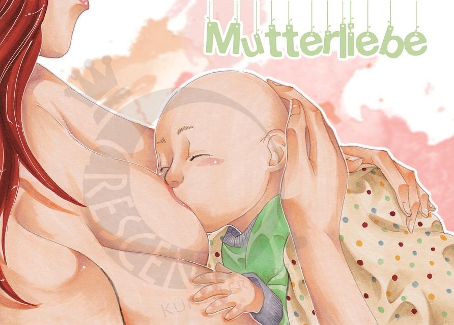motherly love by Honeyeater