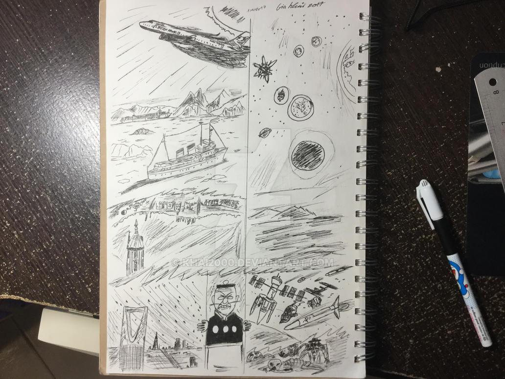 Prophecies ( ink version ) by Khai2000