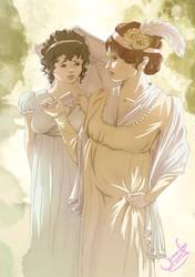 Caroline Bingley by Temarinde