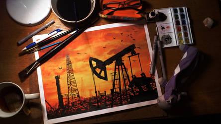Oil by Temarinde