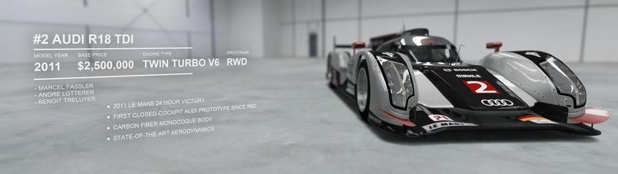 Audi R18 Autovista
