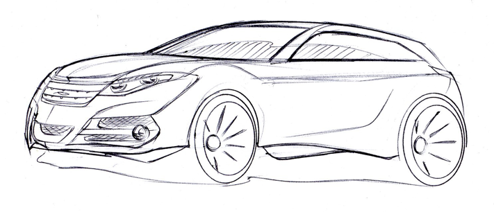 ford focus sketch by sndesign on deviantart