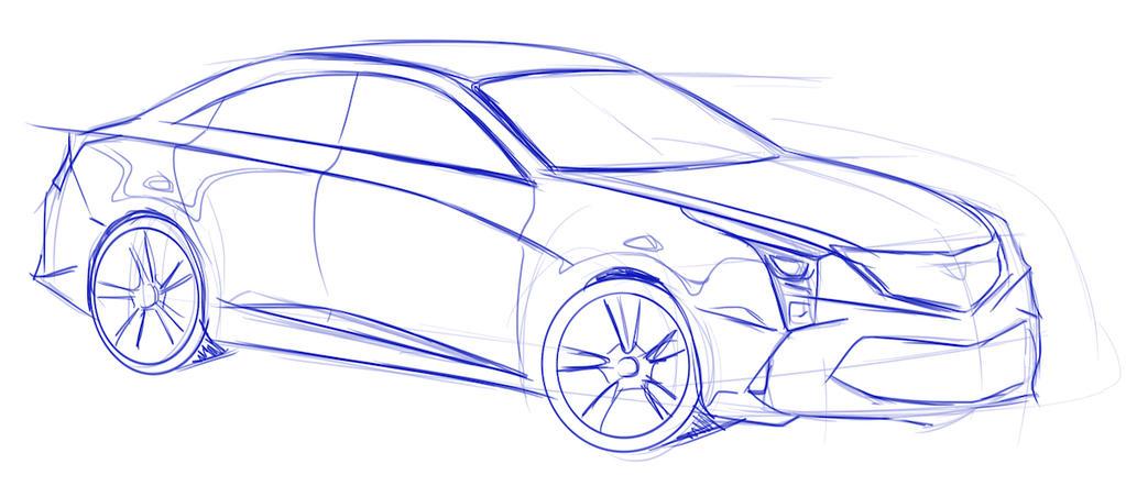 Cadillac ATS by SNDesign