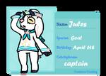 [Creature Crossing] Jules