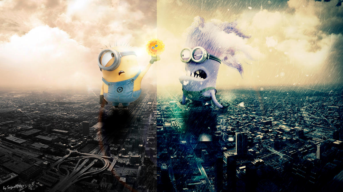 Hot and cold weather minions wallpaper by for Windows for cold climates