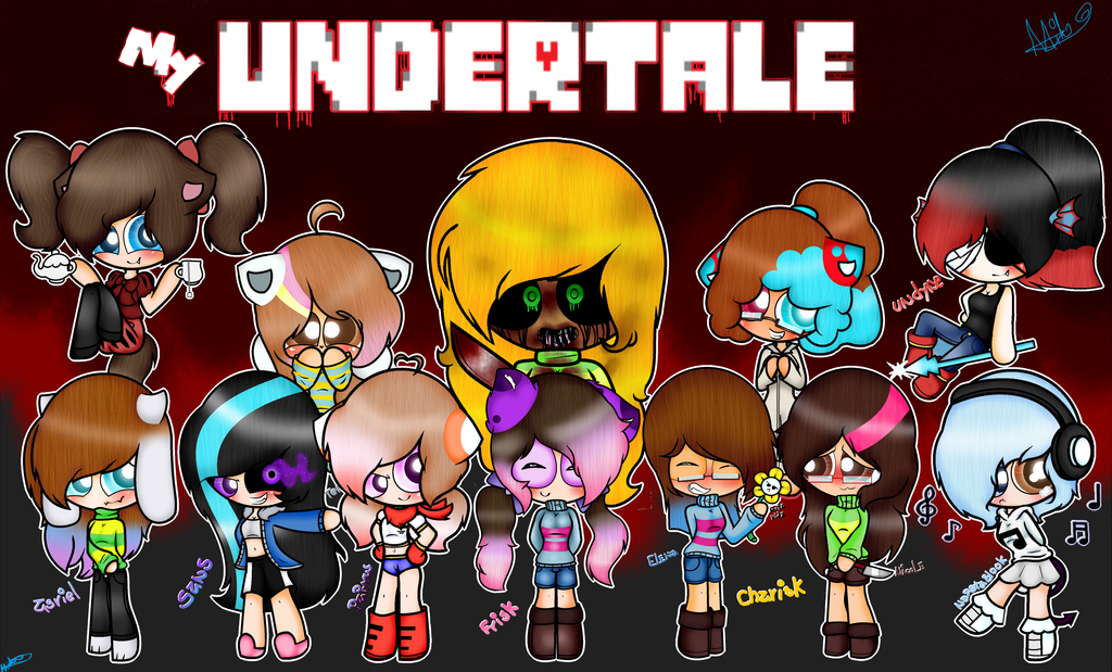 My undertale!!!(feliz Halloween) by MiaPaint on DeviantArt