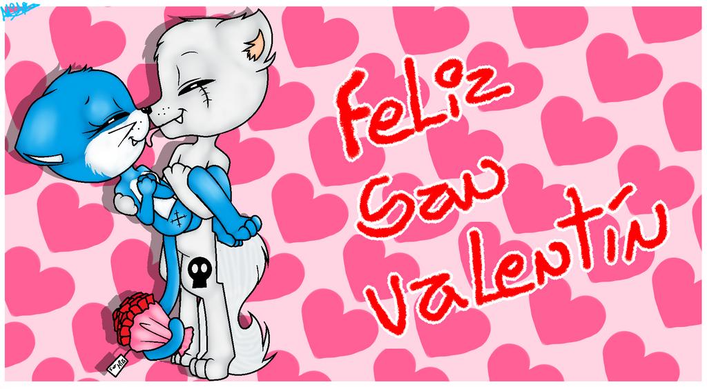 Feliz San Valentin (Version Furries) By MiaPaint ...