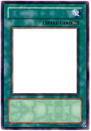 continuous spell card template by the destined duel on deviantart. Black Bedroom Furniture Sets. Home Design Ideas