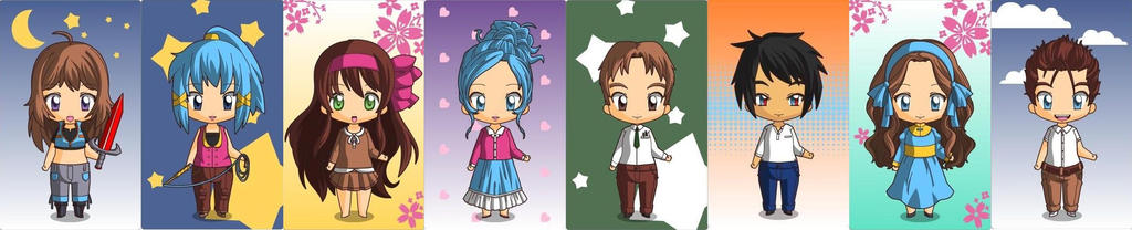 AFL characters by 2sisters34