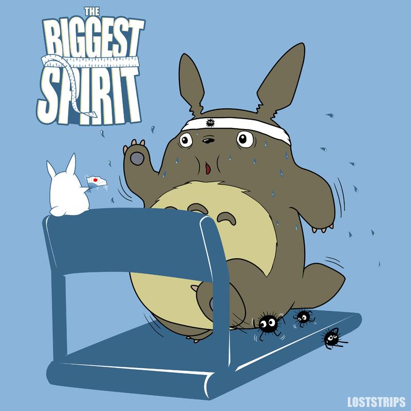 The Biggest Spirit by loststrips