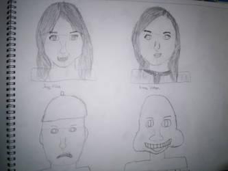 Art Sketches 2 by werewolf2993