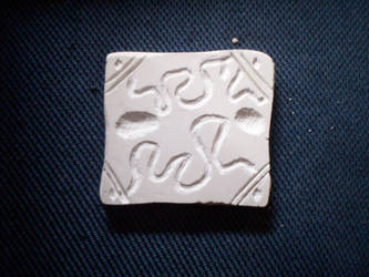 Plaster Tile by werewolf2993