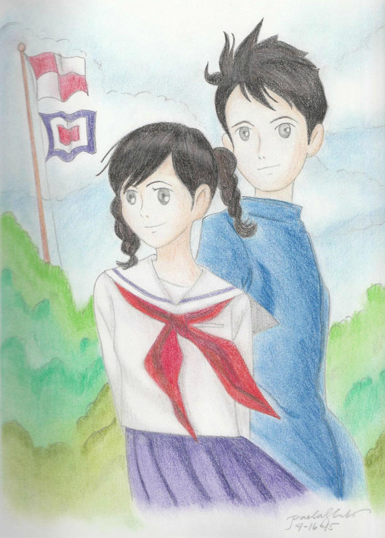 Studio Ghibli Fan Art: From Up on a Poppy Hill by bipaolar ...