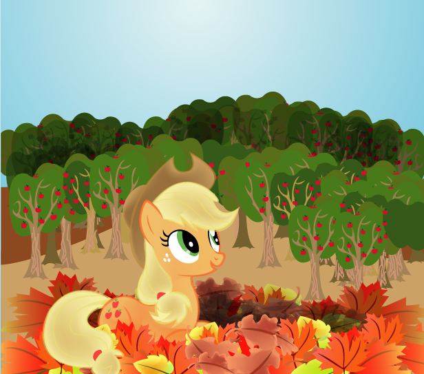 Autumn Applejack by LottaPotatoSalad