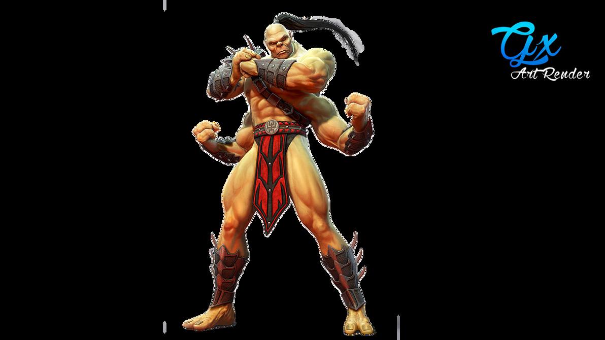 Goro - Mortal kombat by GaXxBR on DeviantArt