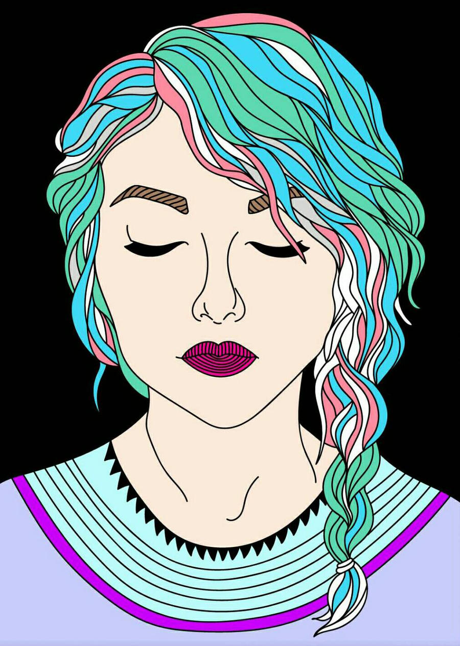 Girl~ by caiteecandy