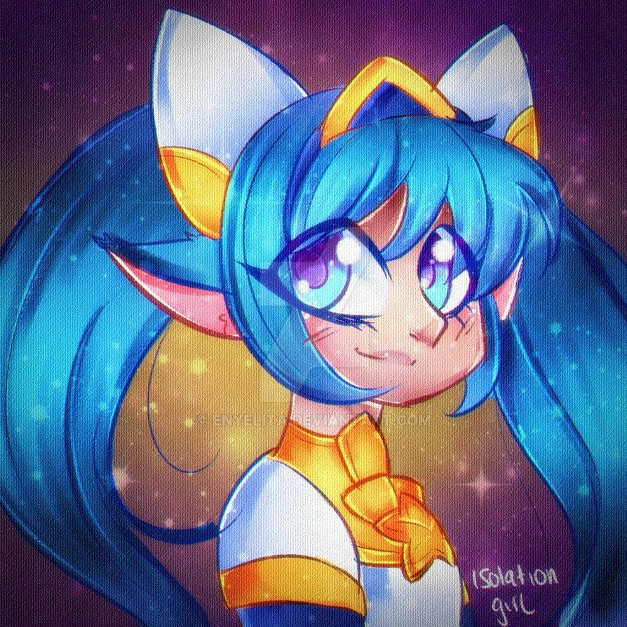 poppy star guardian by enyelita