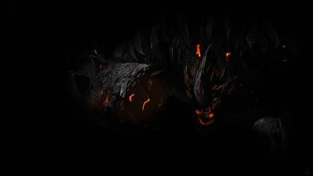 Obsidian Neon Malphite
