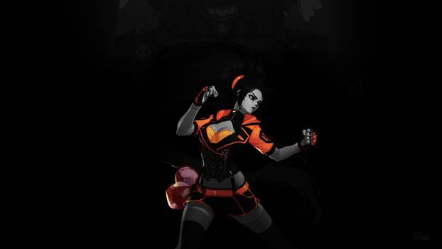 Female Striker 2nd Awakening Wallpaper