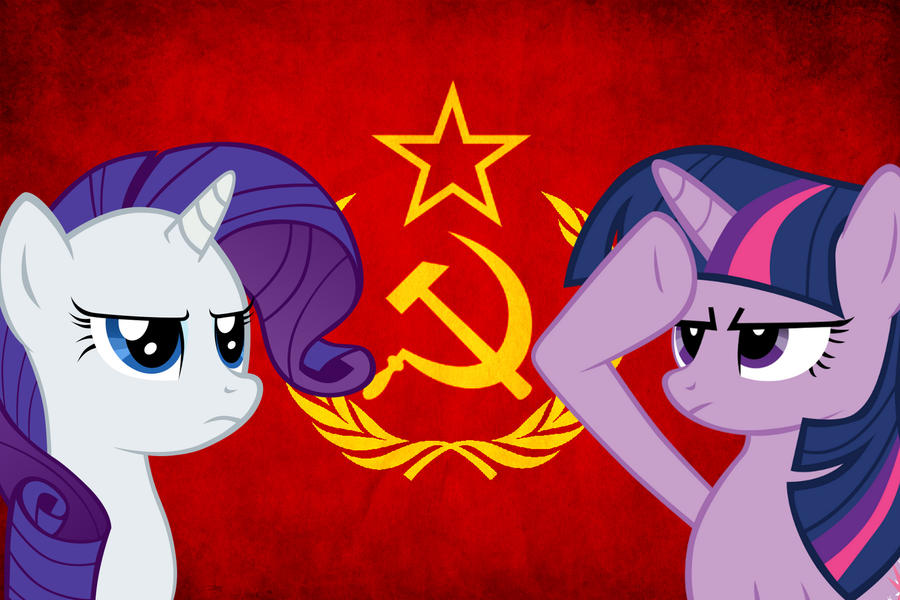Soviet Ponies by Billm2n