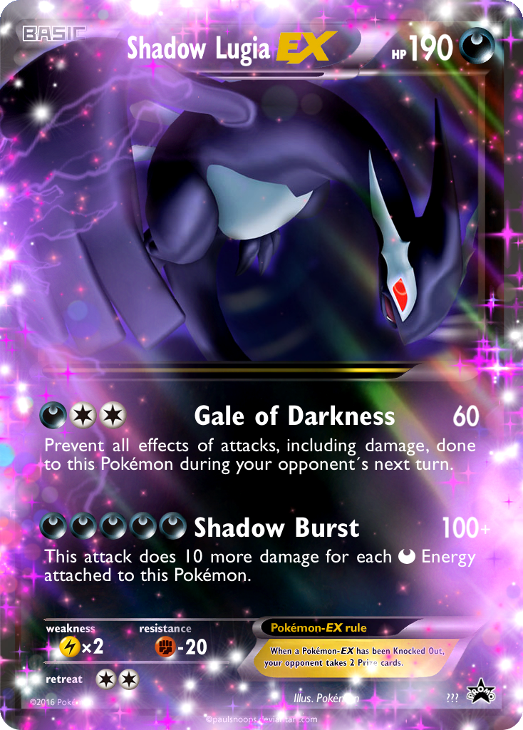 Shadow Lugia EX by ThatOneHoundoomLover on DeviantArt