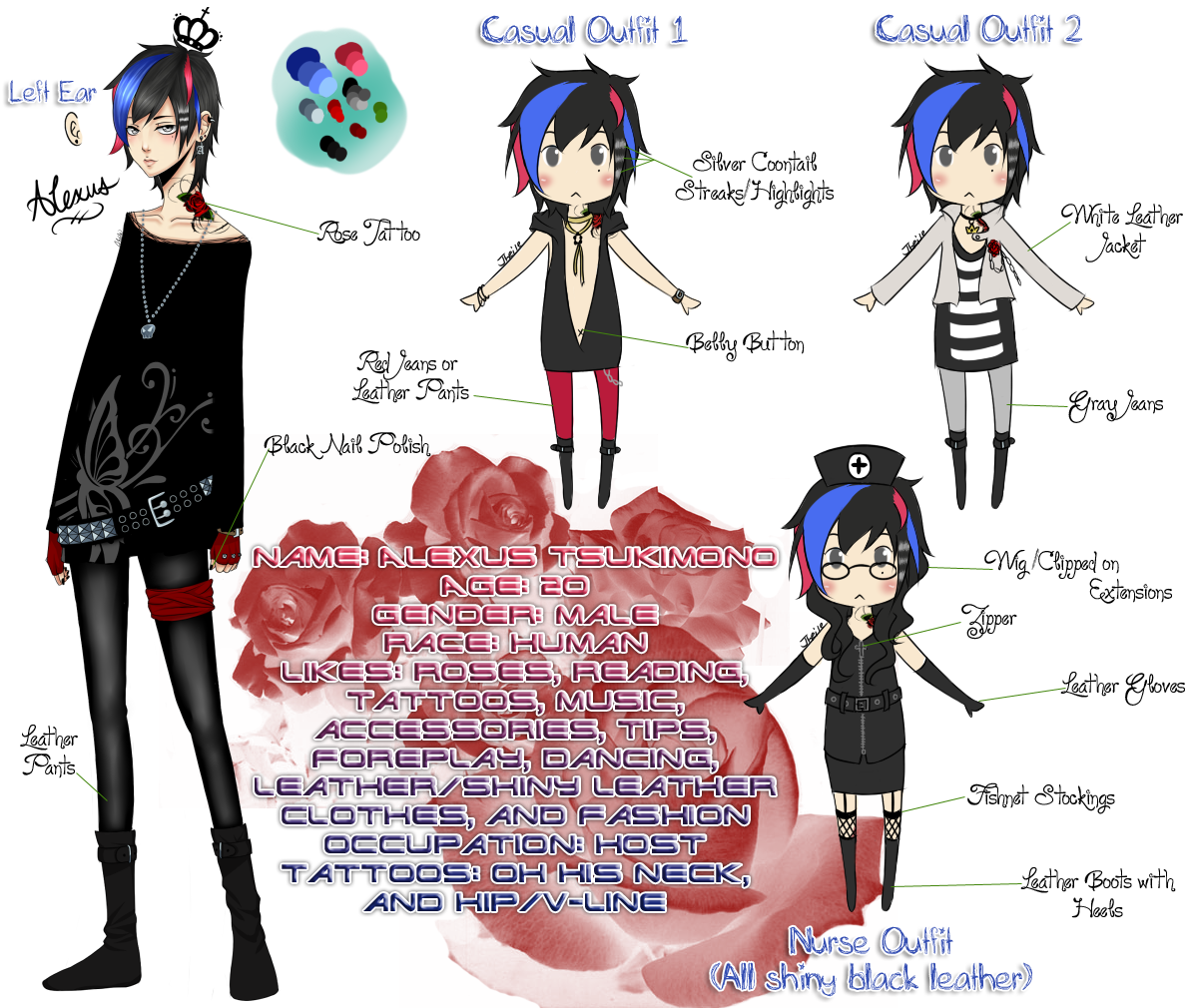 OC Alexus Character Sheet By OhSquishy On DeviantArt