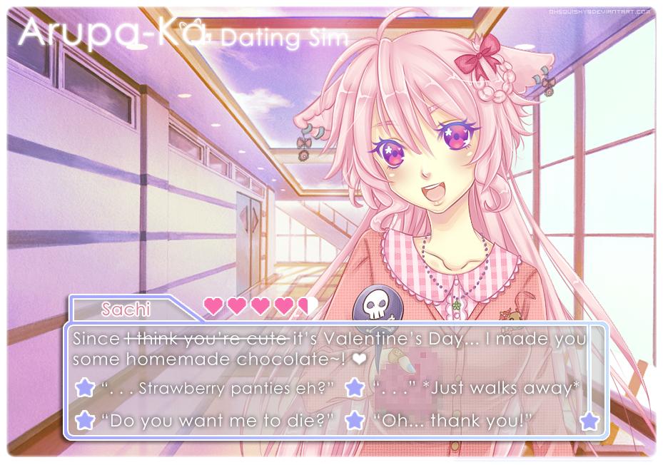 Anime dating sim on deviantart
